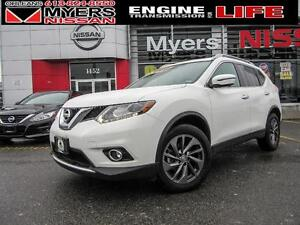 2016 Nissan Rogue SL, Executive Demo deal, Nav, Leather, Moonroo