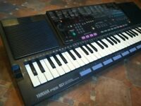 Yamaha PSS-51 Vector Synthesizer Keyboard Vintage - 8 track sequencer Circuit Bending 90s