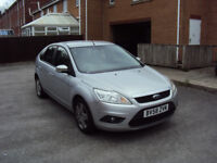 FORD FOCUS 1.6 TDCI STYLE 5DR 2008 NEW SHAPE DIESEL LOW MILES SERVICE HISTORY MOT SPARES OR REPAIRS