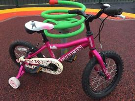 Saracen Bella little girls bike