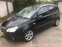 Ford C Max very low mileage, new clutch & 12 month MOT