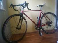 Alloy Road bike 50cm, very lightweight many upgrade
