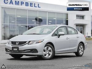 2015 Honda Civic LX DONT WAT--ONLY 34,000 KMS-AUTO-AIR