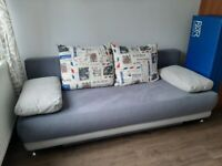 Sofabed with storage