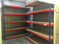 Warehouse Industrial Heavy Duty Racking x2