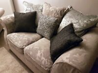 2 SEATER SOFA & MATCHING ARMCHAIR