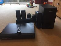 Samsung Surround Sound and DVD Player