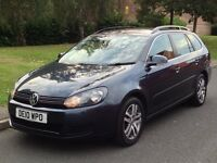 2010 Volkswagen Golf 2.0 TDI SE DSG Auto Diesel 5dr Estate - F/S/H - P/X Welcome -