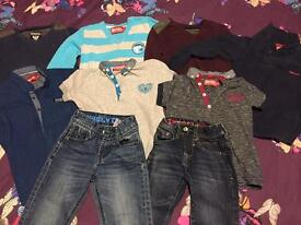 Boys diesel clothes bundle