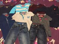 Boys diesel clothes bundle