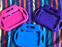 Pink, Purple and Blue IPad Mini covers