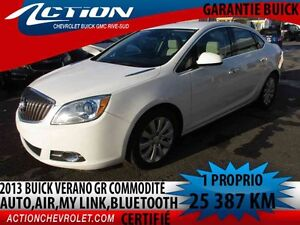 2013 BUICK VERANO Gr commodité,auto,air,my link