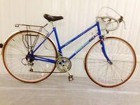 Ladies Edinburgh Hand made road bike 10 speed Lightweight Pristine condition