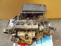 Nissan Almera engine and gearbox. 1.6 Litre, twin cam, 16 valve.
