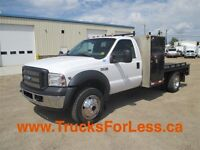 2006 Ford F-450 4X4, 11 Ft WELDING DECK!!!