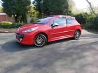 Peugeot 207 gti 55k (octane pack)
