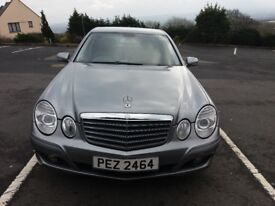 Mercedes Benz E220D Special Edition Executive Auto Tip Full Years PSV Full Black Leather