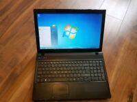 Acer intel dual core 2gb ram 250gb hhd laptop webcam hdmi excellent condition