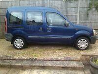 Renault Kangoo MPV 1.4 Petrol Manual . For repair or spares.
