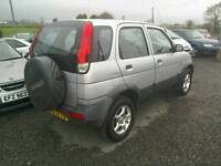 02 Daihatsu Terios 4x4 5 door Moted 19/07/2017 great car (can be viewed inside anytime)