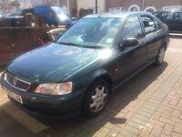 Honda Civic 1.4 auto green 107000 miles 6 month road tax 1 year MOT E window E mirror E sunroof