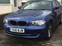 2010 Bmw 1 series, £30 year tax, lovely !!