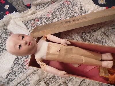 Rare Ichimatsu Gofun Doll Beautiful!