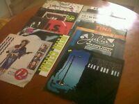 10 EP Vinyl rcords, rare!70's /80's