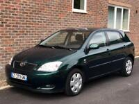 LEFT HAND DRIVE TOYOTA COROLLA 1.6 VVT-i 5dr/AUTOMATIC/PETROL/LOW MILES/52K MILES/TOYOTA HISTORY/LHD