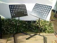 Tiger Music stands