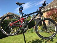 Iron horse azure Full Suspension mountain bike