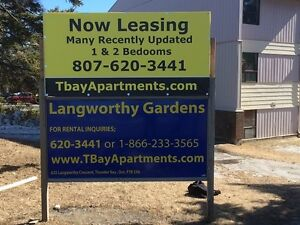 ACROSS FROM LU - 1 and 2 bdrm apartments