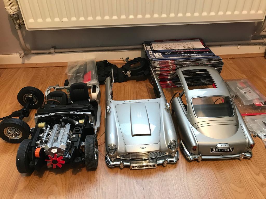 James Bond 1/8 Aston Martin Db5 Eaglemoss Cost