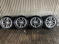 "Genuine 18"" BMW 5 Series M Sport G30 662 Staggered Alloy Wheels #3 - 5x112"