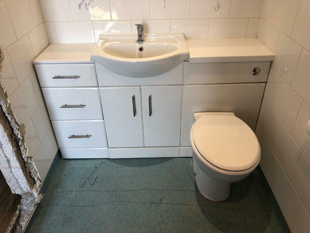 Toilet Sink Vanity Unit In Long Eaton Nottinghamshire