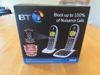 BT Dual phone with Answer Phone - Blocks Nuisance Calls Loddon Area