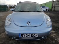 QUICK SALE - £1,695 ONO - VW Beetle Sports Auto Convertible