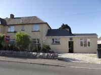 3 bedroom unfurnished family house available on long-term residential let in Padstow