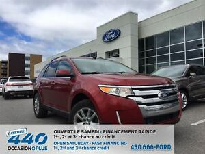 2013 Ford Edge LIMITED * BAS MILLAGE, NAVIGATION, AWD *