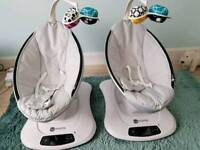 4Moms Mamaroo 4.0 rocker. One sold, One still available.
