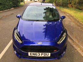 Ford Fiesta 1.6 EcoBoost ST-2 3dr Spirit Blue Full Ford Service History