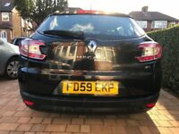 Megane Sports Tourer Dynamique, low mileage , 1 owner, full service history