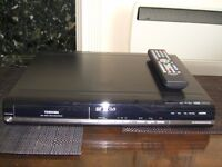 TOSHIBA D-R18DT DVD Recorder DivX , PROGRESSIVE WITH BUILT-IN FREEVIEW