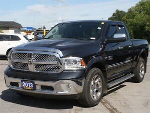 2013 Ram 1500 Laramie Quad Cab 4WD Nav, Back Up, Hitch & Tonneau