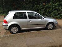 VW Golf 2003 3 door hatchback 1.4L