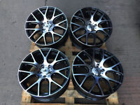"BRAND NEW SET OF 18"" DK 101 ALLOY WHEELS FIT: VAUXHALL INSIGNIA OPEL - MINI PACEMAN COUNTRYMAN"