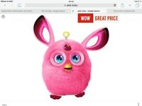 Brand new pink Furby. Only been out of box once.