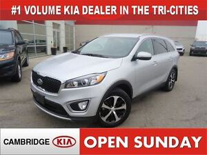 2016 Kia Sorento 2.0L EX / LEATHER / AWD / HTD SEATS