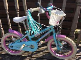Girls Schwinn Gleam 16 inch bike