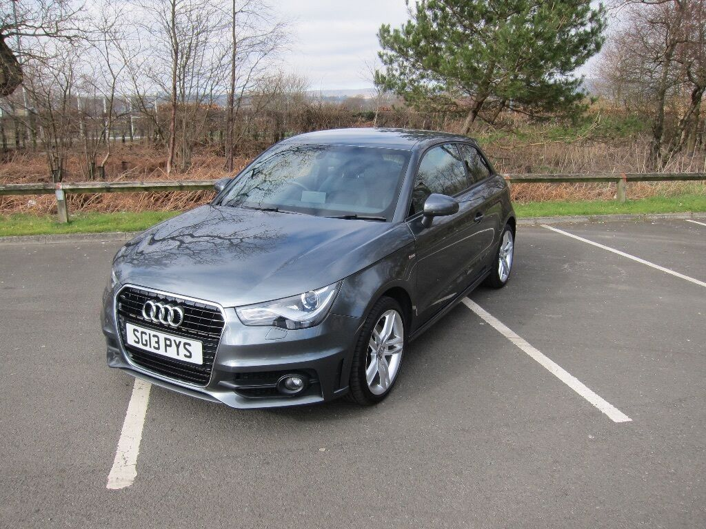 Audi A1 S Line 3 Door 1 6tdi Daytona Grey 2013 39670